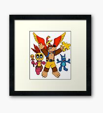 """""""Heroes of the Witch's Lair"""" Framed Print"""
