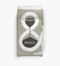 Time & Space Duvet Cover