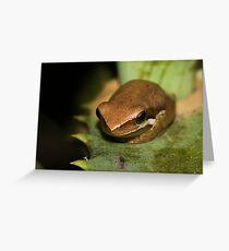 Froglet Greeting Card