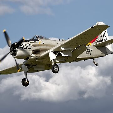 Douglas AD-4NA Skyraider  by AndyHkr