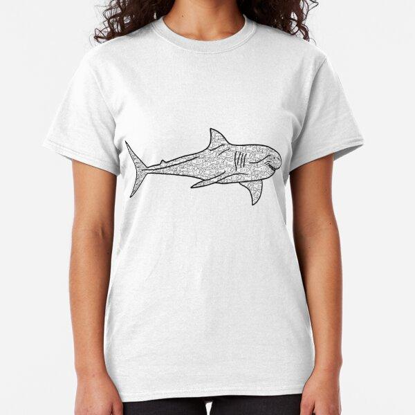 Poker Shark Fish Classic T-Shirt