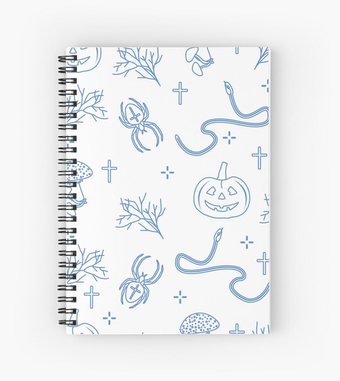 Cuadernos de espiral «Patrón sin costuras de halloween Calabaza ...