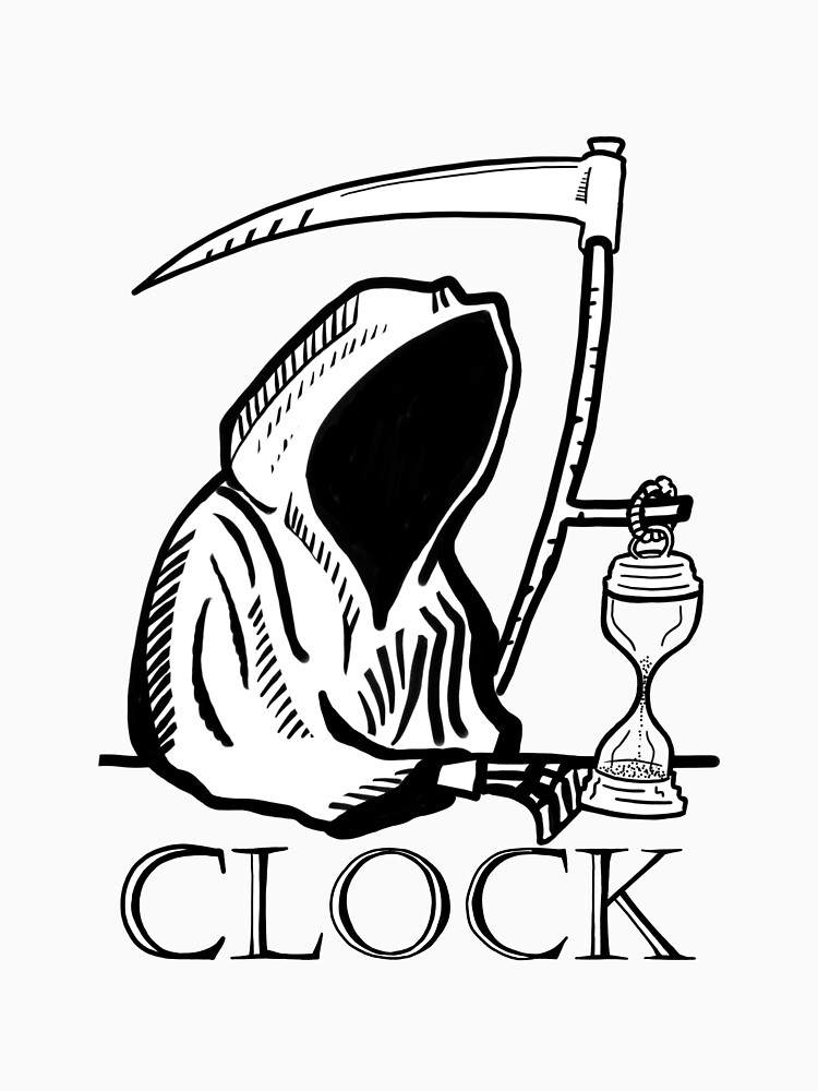 Grim Reaper Clock by fullrangepoker