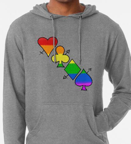 LGBT Poker Lightweight Hoodie
