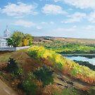 Moldovan Landscape. Naslavcha by Anthropolog
