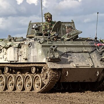 A British Army FV432 Armoured Personnel Carrier by AndyHkr