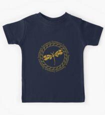 SASSENACH GOLDEN CIRCLE Kids T-Shirt