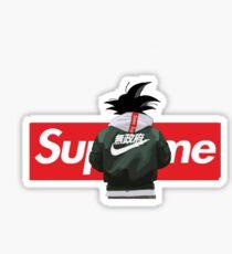 Sup Dragonball Z Son Goku Supersaiyan Sticker