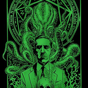 Howard Phillips Lovecraft by VanHand