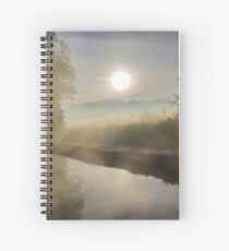 First Frosty Morning at Clifton-Upon-Dunsmore Spiral Notebook