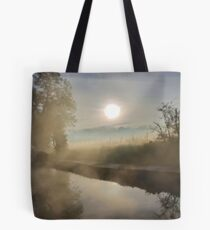 First Frosty Morning at Clifton-Upon-Dunsmore Tote Bag