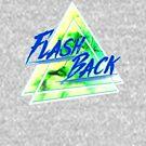 «Flash Back Neon azul y verde» de FejuLegacy