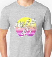 Camiseta unisex De vuelta a los 80