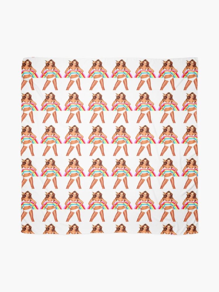 Alternative Ansicht von Abbildung Mariah Carey Regenbogen Tuch