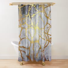 KINTSUGI  ::  Recognise Beauty Shower Curtain