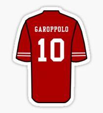 Jimmy Garoppolo Jersey Sticker