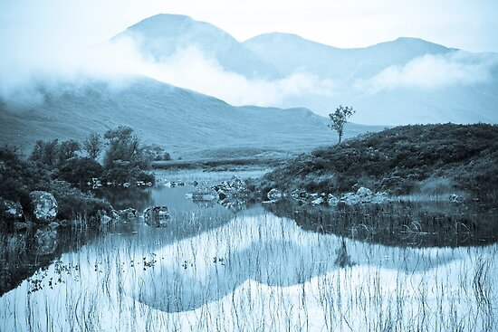 Rannoch Moor and cloudscape by Jason Smalley