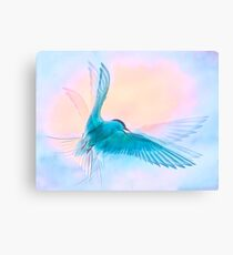 Ethereal Arctic Tern Canvas Print