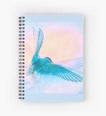 Ethereal Arctic Tern Spiral Notebook