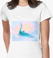 Ethereal Arctic Tern Women's Fitted T-Shirt