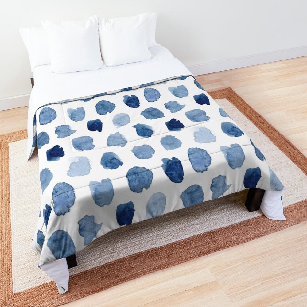Indigo Love Comforter