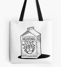 MISSING - Rick Sanchez (Rick and Morty) Tote Bag