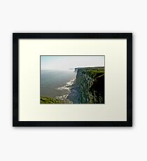 Bempton Cliffs Framed Print
