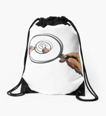 glass magnification Drawstring Bag