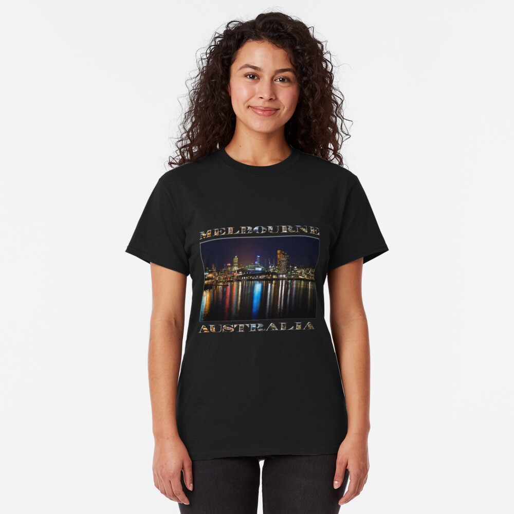 Harbour Lights (poster edition on black) Classic T-Shirt