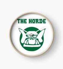 the horde Clock
