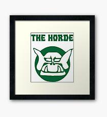 the horde Framed Print