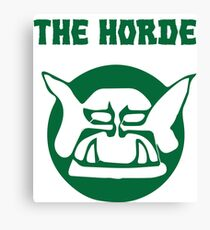 the horde Canvas Print