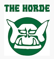 the horde Photographic Print