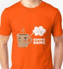Coffee wants some sugar Unisex T-Shirt