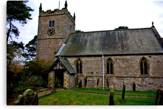 The Church - Nunnington. by Trevor Kersley