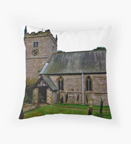 The Church - Nunnington. Throw Pillow