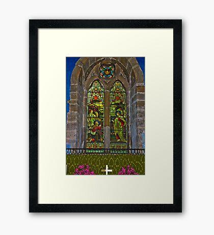 Window #1 Framed Print