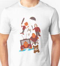 Horror Movies, Internet Cats & Impractical Jokers Unisex T-Shirt