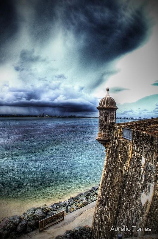 La Garita del Morro Old San Juan Puerto Rico by