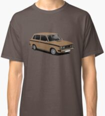 DAF 66 Combi - illustration - brown Classic T-Shirt