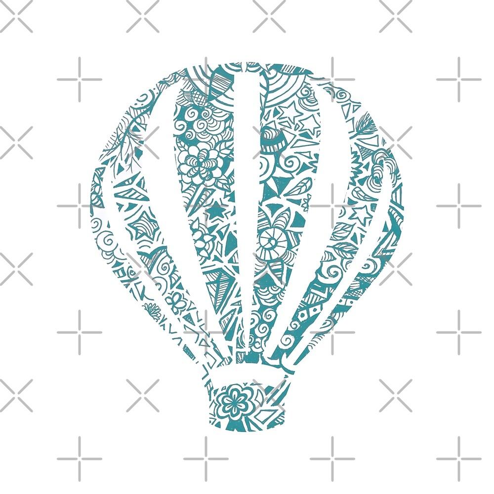 Hot air balloon  by Lauramazing