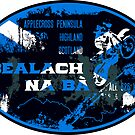 Bealach Na Ba Scotland T-shirt and Sticker Motorcycle Design by ROADTROOPER