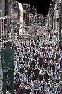 Faces in the Crowd - Buchanan St Glasgow Scotland Europe by simpsonvisuals