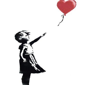 girl with heart ballon by Jobrien58