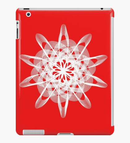 Spirograph with white iPad Case/Skin