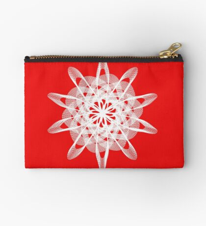 Spirograph with white Zipper Pouch