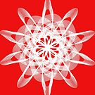 Spirograph with white by Shapes-Mania