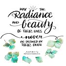 The radiance first their beauty by Nathalie Himmelrich