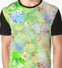 A bed of flowers. Graphic T-Shirt