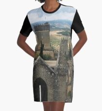 At the top of the castle Graphic T-Shirt Dress